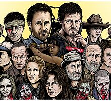 Walking Dead  by ArtOfOldSchool