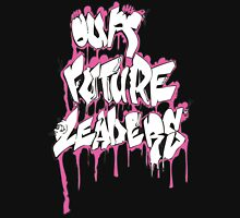 Our Future Leaders Graffiti Pink Womens Fitted T-Shirt