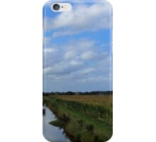 Irrigation and silos down on the farm iPhone Case/Skin