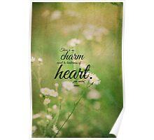 Jane Austen Heart Emma Poster
