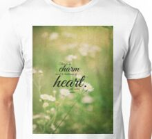 Jane Austen Heart Emma Unisex T-Shirt