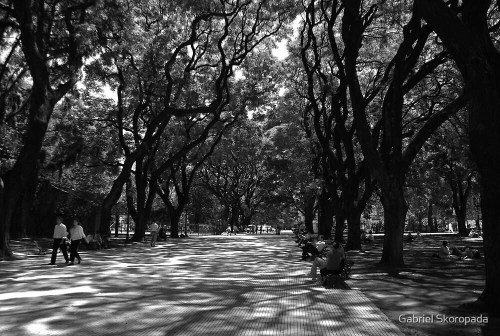 Plaza San Martin, Buenos Aires, Argentina by Gabriel Skoropada