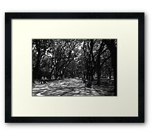 Plaza San Martin, Buenos Aires, Argentina Framed Print