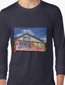 Joe`s To Go - HDR- Fremantle WA Long Sleeve T-Shirt