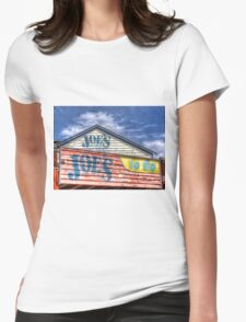 Joe`s To Go - HDR- Fremantle WA Womens Fitted T-Shirt