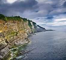 Touching the clouds (Canada, Gaspe) by Viktor Elizarov