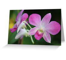 purple symmetry Greeting Card