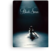 Black Swan - Poster Remake Canvas Print