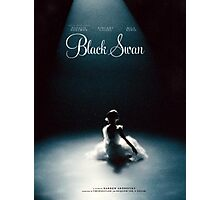 Black Swan - Poster Remake Photographic Print