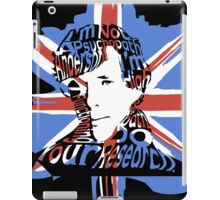Sherlock Quote iPad Case/Skin