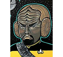 Worf Princess Leia Photographic Print