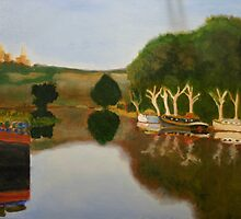 Rhone river by frank sharp
