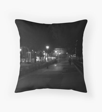 Lonely Beat Throw Pillow