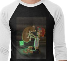 Ed and Ein Men's Baseball ¾ T-Shirt