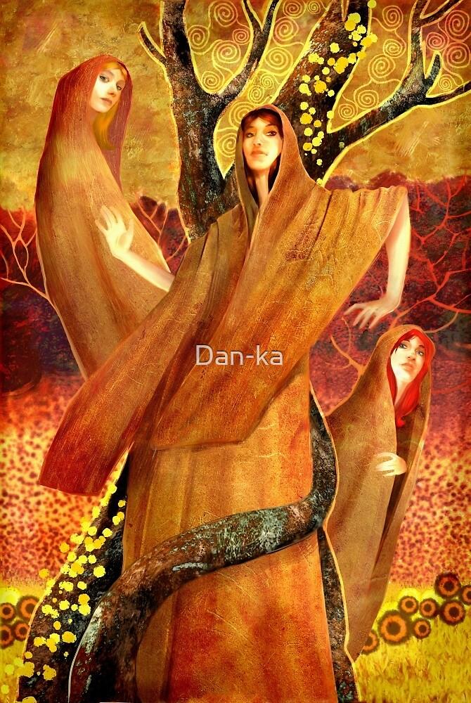 Tableau of essence by Daniele (Dan-ka) Montella