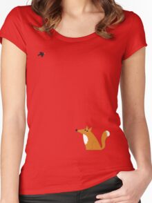 Fox and crow Women's Fitted Scoop T-Shirt