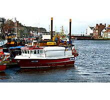 Whitby Harbour #2 Photographic Print
