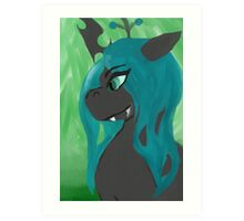 queen chrysalis  Art Print