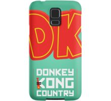 Donkey Kong Country glow print Samsung Galaxy Case/Skin