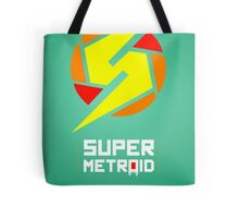 Super Metroid glow print Tote Bag