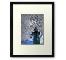 South Mole Lighthouse - Fremantle -HDR Framed Print
