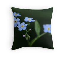 Forget Me ????? Throw Pillow