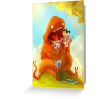 Brush Your Teeth! Greeting Card