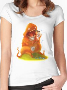Brush Your Teeth! Women's Fitted Scoop T-Shirt