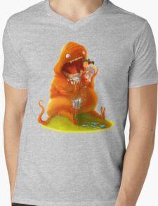 Brush Your Teeth! Mens V-Neck T-Shirt