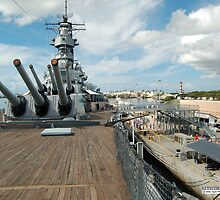 From the bow of the USS Missouri by Greg Kolio Taylor