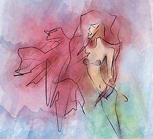 Mermaid  by lizswezey