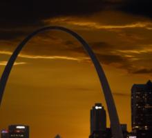St. Louis Missouri at Sundown Sticker
