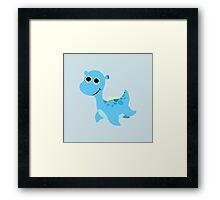 Cute little Loch Ness Monster Framed Print