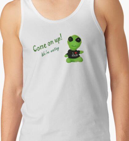 Little Alien Tank Top