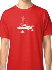 Jaws - Orca with Barrels Classic T-Shirt
