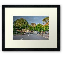 Inner City Road Framed Print