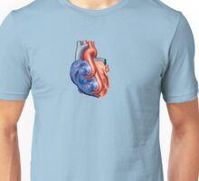Twin Turbo Heart Unisex T-Shirt