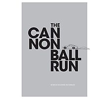 The Cannonball Run - Aston Martin DB5 Photographic Print