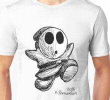 Shy Guy Doodle Unisex T-Shirt