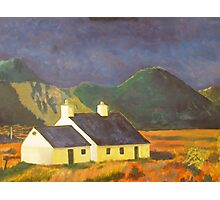 Highlands cottage Photographic Print