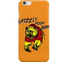 Winnie the Grizzly Pooh Bear iPhone Case/Skin