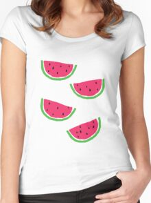 A Little Watermelon Women's Fitted Scoop T-Shirt