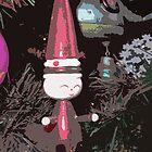 Retro Santa by Rebekah  McLeod