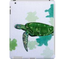 Turtle Study iPad Case/Skin