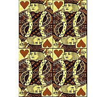 FOUR KING OF HEARTS Photographic Print