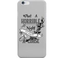A Cursed Night iPhone Case/Skin