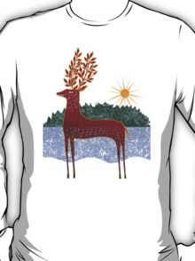 Deer in Sunlight T-Shirt