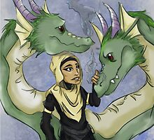 """""""Two Heads Are Better Than One"""" ( On Dragons Especially.) by carpentre"""