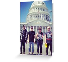 the griswolds in d.c. Greeting Card