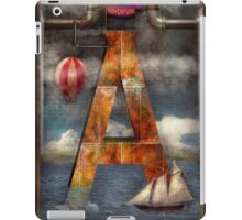 Steampunk - Alphabet - A is for Adventure iPad Case/Skin